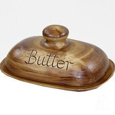 Butterdose Butterglocke- Keramik-Dose mit Deckel für 250 g Butter mit Aufschrift