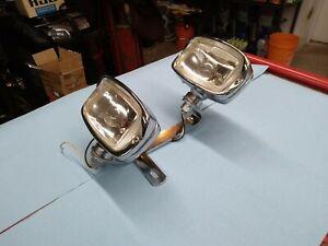 Vintage NOS dual headlight  Springer motorcycle with bracket