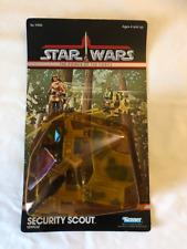 Star Wars Security Scout Mini Rig Carded Vintage Unopened POTF MOC