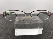 Kirkland Signature Eyeglasses Bronze 53-18 135 Rimless 95% Recycled Material 649