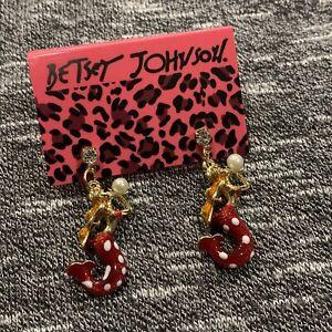 Betsey Johnson Mermaid Earrings