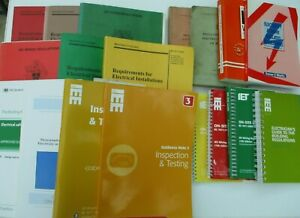 50 Years (approx) of publications of Electrical regulation books/guides