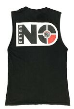 Vision Street Wear 'No Rules' Vintage 80's Punk Rock Skater T-Shirt Tank Top