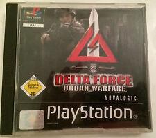 PS 1 juego-Delta Force Urban Warfare