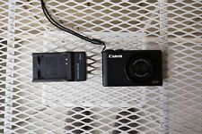 Canon Power Shot S110 Digital Camera 12.1MP Point & Shoot Charger