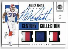 2014 Panini National Treasures #123 Legend Bruce Smith Buffalo Bills Card
