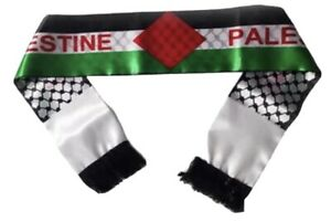 Palestine Flag Scarf / Neck Shemagh / Keffiyeh.