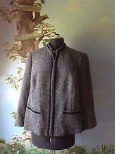 Elisabeth by Liz Claiborne Petite Blue Long Sleeve  Blazer Suit Jacket SZ 16P