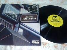 SPIKE ROBINSON & EDDIE THOMPSON TRIO AT CHESTERS - signed Vinyl LP - VG/EX