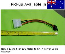 New 17cm 4 Pin IDE Molex to SATA Power Cable Adapter