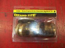 New Expand-Tite 02690 Brass Expansion Plug Set Big Block Chevy BBC 454 427 396