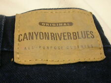Men's Jeans 42 X 32 Black Canyon River Blues Original Style 112477