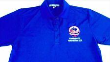 New York Mets Polo Shirt Womens Small Washington DC Nationals Park Dri-Fit Golf