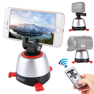 Electronic 360 degree Rotate Delay Panoramic Head For SmartPhone Gopro DSLR DV