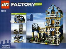 LEGO Factory Market Street (10190) 100% complete with original instructions