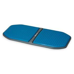 Gaiam Evolve Balance Board for Standing Desk Anti Fatigue Wobble Board - Ocean