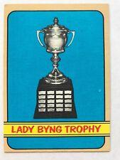 1972/73 Topps Hockey Card #175 Lady Byng Trophy EX/MT
