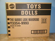 BARBIE LOOK COLLECTION WARDROBE *NEW* IN SHIPPER