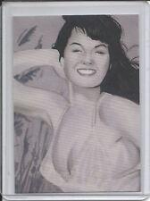 Bettie Page Private Collection #50 Promo Card Versicolor