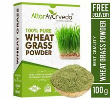 Attar Ayurveda Wheat Grass Powder 100 Gram Free Shipping