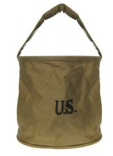 US Army Canvas Water Bucket US acqua secchio d'acqua sacco Marines USMC Navy wk2 WWII