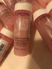 Lancome Tonique Confort Lotion Pink Toner Travel Size -1.6oz each X5=8oz/250ml