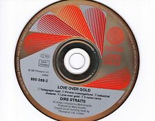 CD DIRE STRAITS love over gold HOLLAND 1982 rare