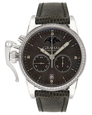 Graham Chronofighter 1695 Diamond Lady Moon Stainless Ladies Watch 2CXCS.A02A