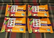LOT of 4 ProBar WHOLE Meal Bar Superfood Slam Bars 10g Protein Energy Hike Camp