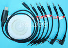 6 in 1 USB Programming Cable for ICOM IC-2800 IC-3FGX IC-A110 IC-A23 IC-A24