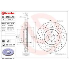 Disque de frein (2 Pièce) BREMBO Xtra Line-BREMBO 09.8485.1x