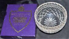 Watford Crystal Boxed Sugar bowl. Excellent Condition.