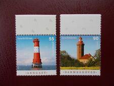 Germany 2011 Lighthouse Set MNH Arngast Dahmeshöved