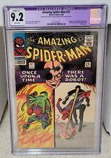 Amazing Spider-Man #37 (1966) CGC 9.2 Restored - 1st Norman Osborn Marvel Key