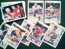 1991 CANADA CUP INSERTS 31-CARDS SET