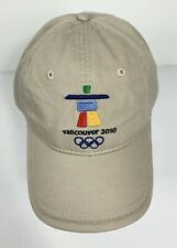 Vancouver 2010 Winter Olympic Games XXI Adjustable Baseball Cap New