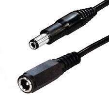 Niedervolt 5m DC Strom Kabel Verlängerung 2,1mm x5,5 Kupplung Verlängerungskabel