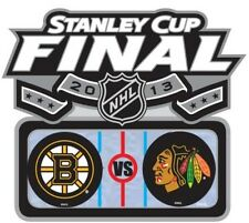 Official 2013 NHL Stanley Cup Final Finals Pin Chicago Blackhawks Boston Bruins