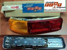 Coppia Faro Fanale posteriore cromato Olsa FIAT 127 Special Couple Rear Light
