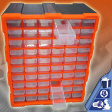 Toolbox 60 Drawer Storage Cabinet DIY Tools Organiser Case Bit Screws Bolt Multi
