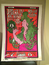 Big Brother and the Holding Co. Janis Joplin Psychedelic poster Original 1966