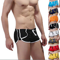 Men's Swimwear Trunks Boxer Shorts Swimming Swim Slim Beach Boardshorts Sports