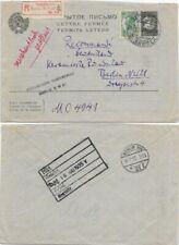 Sowjetunion, Einschreibbrief Moskau-Berlin 1935