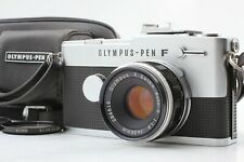 *EXC+5* OLYMPUS PEN-FT  Half Frame w/ F.Zuiko Auto-s 38mm f/1.8 Hood Lcase JAPAN