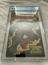 AMAZING SPIDER MAN #41 CGC 4.5 1ST APPEARANCE OF RHINO MARVEL COMICS SILVER AGE