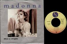 "MADONNA Like A Virgin  7"" Silver Ps, German Issue, B/W Stay, 929 210-7"