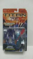 Titan A.E. Inferno Battle Drej Action Figure With Pulsating Light 2000 NEW t1161