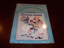 Mother Goose Color Activity Book & Frame Tray Puzzle Combo Pack Ages 3-7 NEW