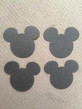 Craft Paper Card Disney Mickey Mouse Ear Heads, Confetti, Tablescatter Scrapbook