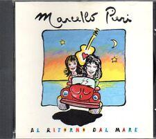 MARCELLO PIERI - AL RITORNO DAL MARE - CD SINGLE 4 TRAKS (COME NUOVO)